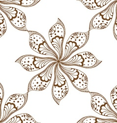 Mandalas seamless pattern vector