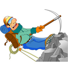 climber vector image vector image