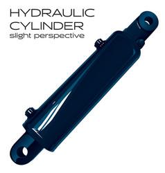 Hydraulic cylinder vector
