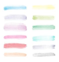 Very bright watercolor vector