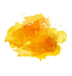 Watercolor banner splatter splashes vector