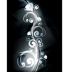 Precious ornament vector image