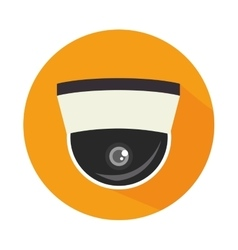 Security cam cctv icon vector