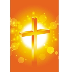 Easter jesus cross background 2 vector