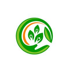 Health life organic vector
