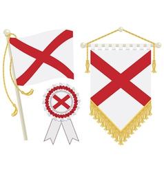 Northern ireland flags vector