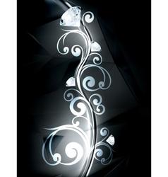 Precious ornament vector image vector image
