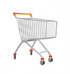 shopping chart vector image