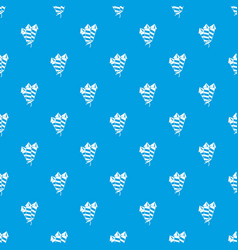firecrackers pattern seamless blue vector image vector image