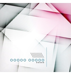 Geometric diamond shape abstract background vector image vector image