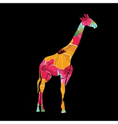 Giraffe ilustration vector