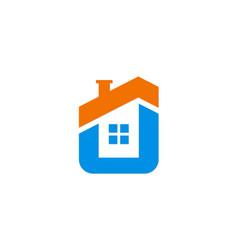 House icon company logo vector