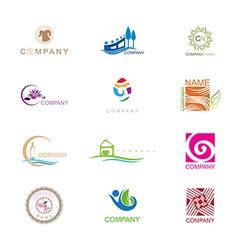 Logo design collection vector