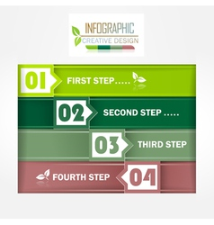 Infographic creative design vector image