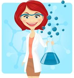 Chemist vector