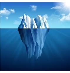 Iceberg Landscape vector image