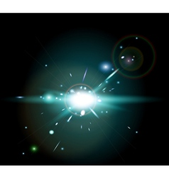 Supernova burst vector image
