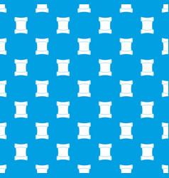 Scroll pattern seamless blue vector