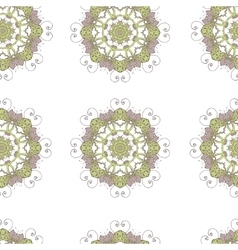 Seamless pattern Doodles abstract decorative vector image vector image