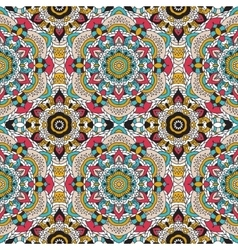 Seamless pattern national decorative vector