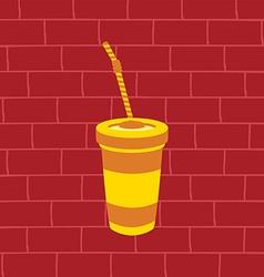 Juicy fruit juice vector