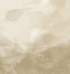 old paper watercolor background vector image vector image