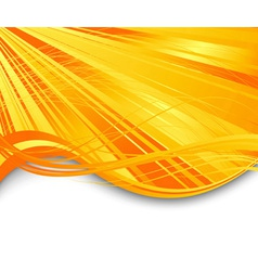 sunburst ray abstract banner vector image