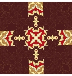 Seamless asian pattern vintage decorative vector