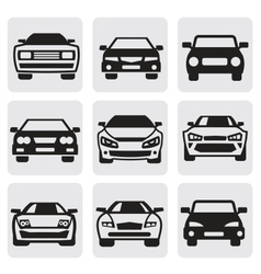 Car symbols set vector