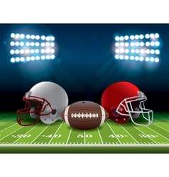 American Football Theme vector image