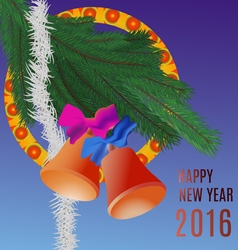 New year greetings vector