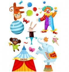 Circus set vector