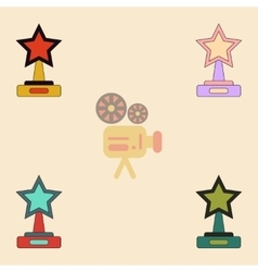 Reward collection in flat vector