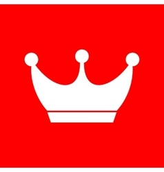 King crown sign vector image