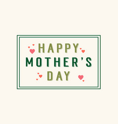 art background mother day vector image