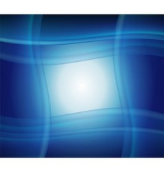 Blue technology grid background vector