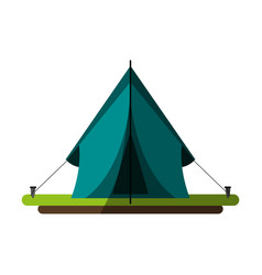 Camping related icon image vector