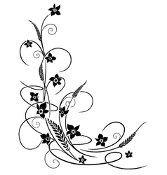 Flowers floral vector