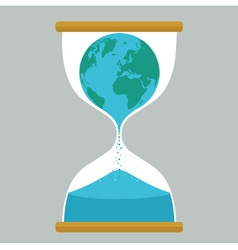 Sand Time Earth vector image