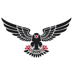 German black eagle vector