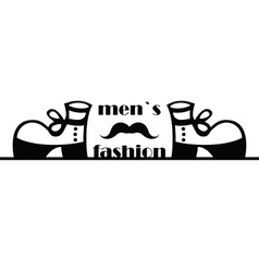 Men fashion sing vector
