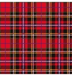 Tartan seamless pattern and background vector