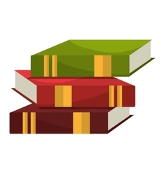 Education and books graphic design vector