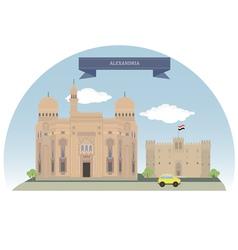 Alexandria vector image