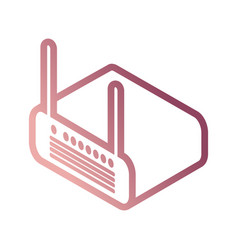 router vector image