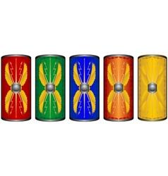 Shields roman legionnaires vector