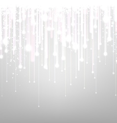 Silver textured background vector image vector image