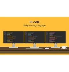 Pl sql programming language code vector