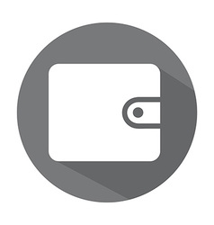 Wallet design vector