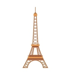 Eiffel Tower Paris France landmark architecture vector image